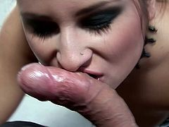 It's been a while since sleazy Bellina had her shaved butt hole destroyed like this time