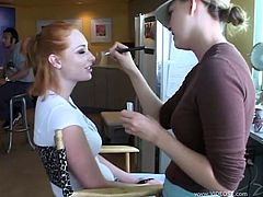 See what happens behind the scenes and how these hot actresses enjoy preparing for their performances. View the greatest backstage videos ever.