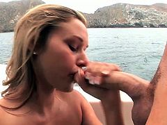 Barely Legal brings you a hell of a free porn video where you can see how the alluring brunette Kennedy Leigh gets banged hard on a yacht til she reaches a breathtaking orgasm.