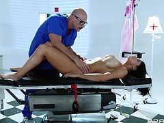 Take a look at this hardcore scene where the busty Audrey Bitoni is fucked by this guy as you hear he moan.