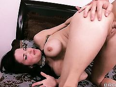 Veronica Avluv gives pussy to horny as fuck Michael Vegas