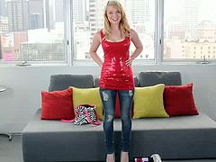 Casting Couch X brings you a hell of a free porn video where you can see how this hot blonde teen rides a hard rod of meat into a breathtaking explosion of pleasure.