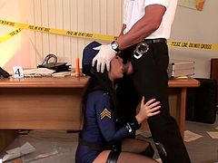 Sexy Police Officer Fucked Hardcore style