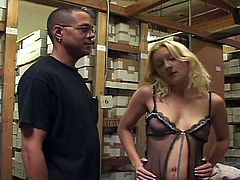 Watch this free tube video you can Always remember to check your stock for you may see this nasty blonde slut as she enjoys double drilling in stockroom!!!