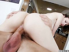 Jay Taylor with round bottom enjoys another great cumshot session