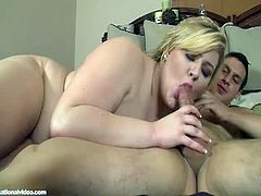 Skye Sinn is a plump blonde with massive jugs and notable skills when it comes to blowing cock and taking cock deep in her fat twat. She is one filthy bbw.