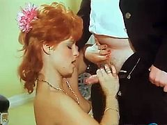 Watch various clips of horny babes way back past decades as they lick, suck and riding cocks and to add a wild orgy. We are curious what the classic porn have that porn today don't have?
