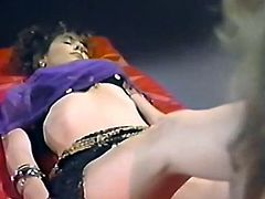 Light and curly haired tramp with big sexy ass pleases her thirsting kooky with solid cunnilingus in flying 69 position. Take a look at that lusty lesbos in The Classic Porn sex video!