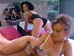 Short and black haired lassie with small titties bounced on that long penis face to face. Then her freak twisted her sharply and banged in missionary style. Just enjoy that voracious tramp in The Classic Porn sex video!