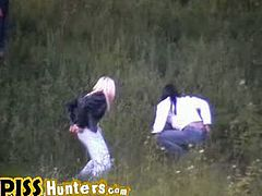 Checkout this hidden cam video of different ladies pissing outdoors caught on hidden cam. If yoy are a fan of watching ladies pissing, this video is for you. They do not know that some one is crazy enough to record the whole process on cam. Enjoy!