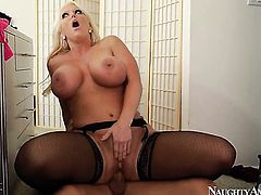 Johnny Castle is one hard-dicked stud who loves banging Amazingly hot asian temptress Alura Jenson