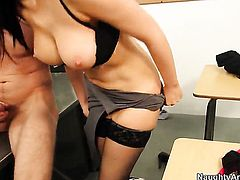 Irresistibly hot exotic porn diva Diana Prince gets seriously used by Danny Wylde