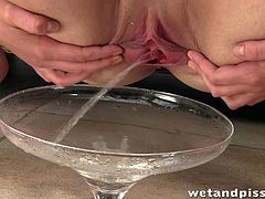 Three different girls do some nasty things in a compilation video. These girls piss and also drink their pee. In addition they finger and toy their wet pussies.