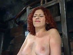 Red head Milf Venus May has Tormented By the Dirty Blonde