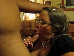 Slut wife sucks black cock