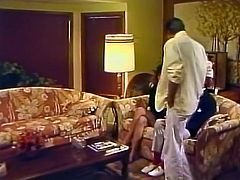 Horny and booty dark haired chick gets he dripping pussy fucked hard doggstyle and missionary. Have a look at this whore in The Classic Porn sex clip.
