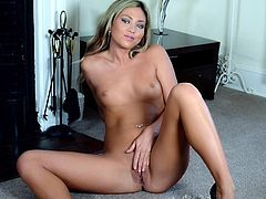 Make sure you don't miss out on this hardcore scene where the horny blonde Natalia Forrest shows off her body while playing with her pussy.
