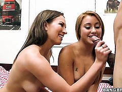 Marina Angel with bubbly booty is a lesbian sex fuck addict who loves Lily Loves fuck hole so much