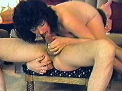 This brunette amateur babe enjoys sucking her man's hard cock and takes a hard fuck up her heir wet pussy after getting toyed.