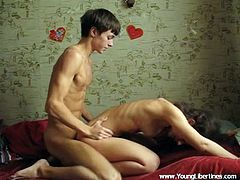 Derek and Tanya are so horny and these two love birds enjoy worshiping each other's slender bodies. He just loves fucking her in doggystyle.
