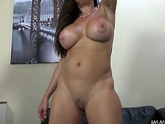 Kinky and attractive dark haired booty chick with ice boobs gets her tight cunt fucked hard. Have a look at this chick in My XXX Pass sex clip.