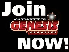 Genesis Magazine brings you a hell of a free porn video where you can see how the naughty blonde Nikki Hunter and the hot brunette Kelly Kline share one hard cock.