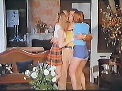 Shameless teen chick invited her ever thirsting fair haired kooky to eat sweet vaginas of each other with passion. Just watch that steamy lesbo sex in The Classic Porn sex clip!