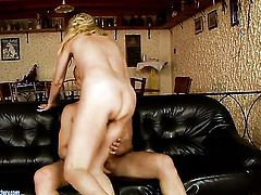 Passionate hussy Kate is on the way to orgasm with hard worm fucking her wet hole