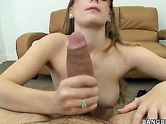 Emily Harper had her nice face covered in cum a thousand times but wants some more