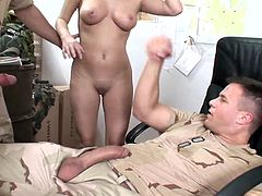 Asstastic light-haired seductress gets her cunny bonked doggystyle and rides erected dick while giving a head. Then she gets nailed mish and dudes cum on her face.