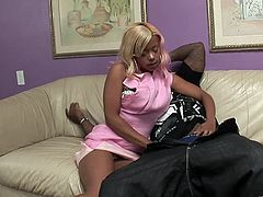 The sexy Olivia Winters couldn't believe her eyes when she saw that huge black cock, but she took a hard doggystyle fuck.