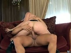 Pretty Pornstar With Big Tits Enjoying A Hardcore, Cowgirl Style Fuck