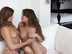 Sweeties Adrienne Manning and Capri Anderson