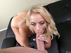 Cameron Canada satisfies her sexual desires with dudes fuck stick in her mouth
