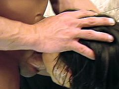 Always keep your hopes up like this nasty cock sucking brunette MILF as she takes huge boner in mouth for facial jizz.