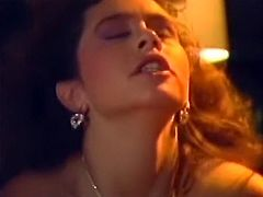 Hot blooded plump chick with huge boobs got her hot vagina provided with steamy cowgirl and doggy styles fuck. Just enjoy that zealous whore in The Classic Porn sex video!