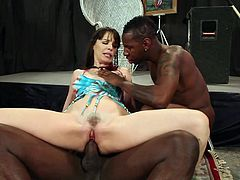 Interracial sex with Dana Dearmond