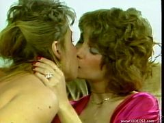 Kinky retro moms Scarlet Scarleau and Kim Bernard are having a good time together. They make out and fondle each other, then lick each other's pussies and forget about everything in the world.