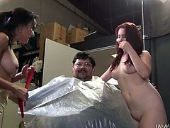 Horny bimbos Cytherea and Melody Jordan are ready for some fun