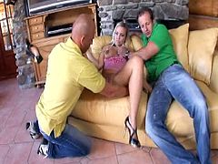 Mia Leone (Czech), George Uhl & a guy