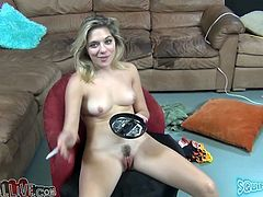 Hot blooded blond gal enjoyed getting her incredibly hairy pussy eaten and fingerfucked greedily by her horny BF. Have a look at this pussy hunter in My XXX Pass sex video!