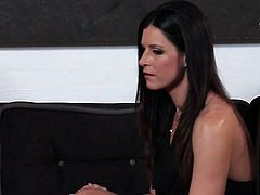 Dazzling brunette India Summer gets her pussy expertly eaten out