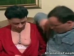Grandma Fooki brings you a hell of a free porn video where you can see how three horny matures suck cock and get pounded deep and hard into a massive orgasm.