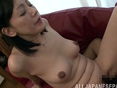 Get a load of this hardcore scene where the horny Japanese babe Ayumi Takanash is fucked by a stud as you hear her moan.
