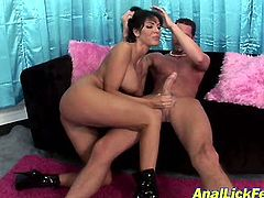 Dark-haired whores Veronica Rayne & Kylie Wilde loves threesomes