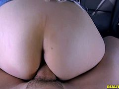 Take a look at this hardcore scene where the horny Charlie Stevens is fucked inside a car after giving this guy head.