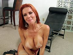Dude, here afe Mia Lelani, Courtney Taylor, Veronica Avluv and Savannah Fox! Three desirable girls demonstrate their big appetizing boobs and the last one exposes her juicy booty!
