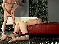 Nude men Fucked And Milked Of A Load