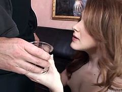 Flat chested shemale gives her lover an amazing blowjob