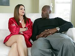 Bro, here are Holly Michaels, Siri, Brooklyn Chase and Amy Anderssen chat with cocky black stud. Some of hotties demonstrate their appetizing curves on cam!